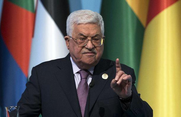 Palestiinalaisten presidentti Mahmud Abbas aikoo vaatia Euroopan unionia tunnustamaan Palestiinan valtion.