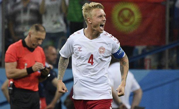Tanskan kapteeni Simon Kjær on antanut kitkeriä kommentteja maan jalkapalloliitosta.