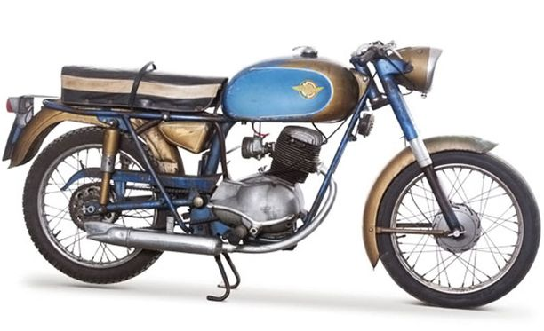 Harvinaista Ducati 125 Aureaa valmistettiin vuosina 1958–62.