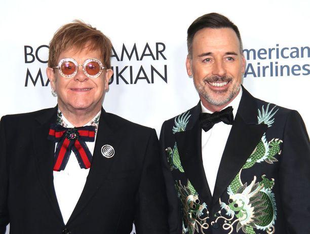 Elton John ja David Furnish ovat olleet yhdessä jo useita vuosia.