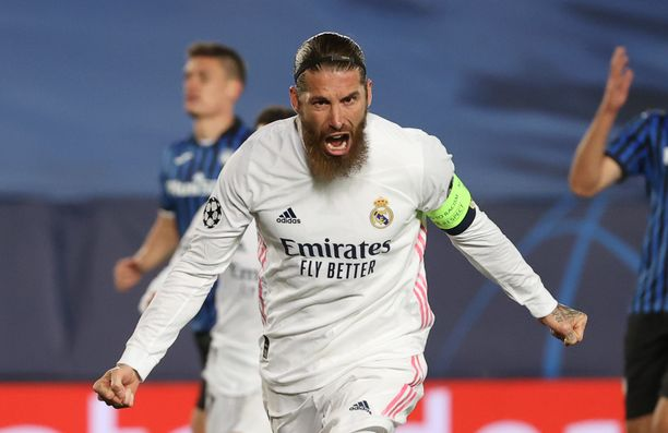 Real Madrid -kapteeni Sergio Ramos täyttää 35 vuotta maaliskuun lopulla.