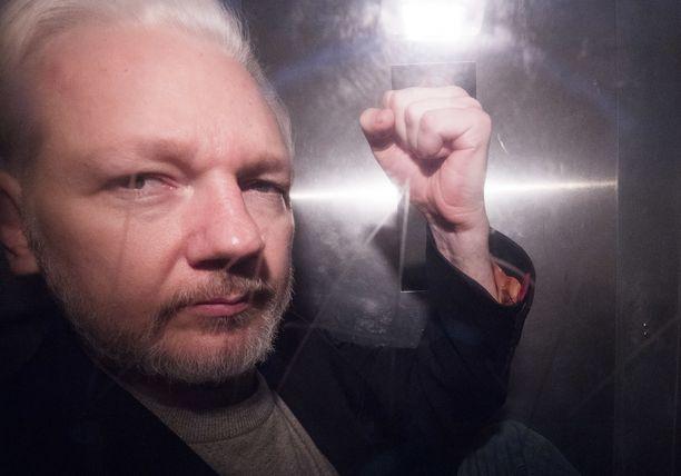 Julian Assange pakoili Ecuadorin suurlähetystössä seitsemän vuotta.