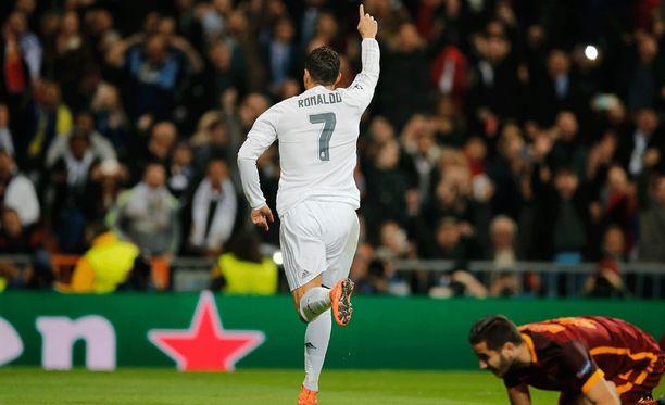 Cristiano Ronaldo on iskenyt 40 maalia tällä kaudella.