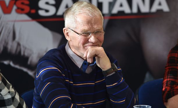 Risto Meronen valmentaa Eva Wahlströmiä.