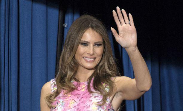 Melania Trump tekee ensimmäisen virallisen työmatkan yksin syyskuussa.
