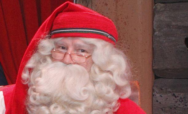 Joulupukki valmistautuu jyhkeään urakkaansa.
