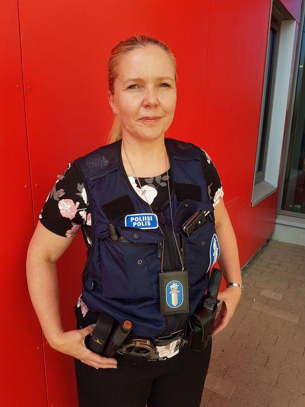 Rikoskomisario Johanna Halttunen.