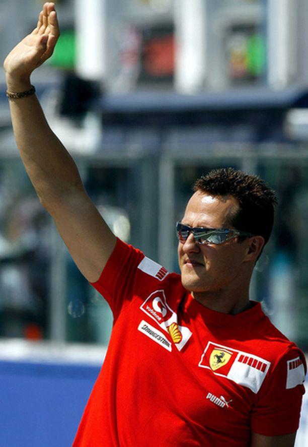 Michael Schumacher hallitsi koko kisaviikonloppua.