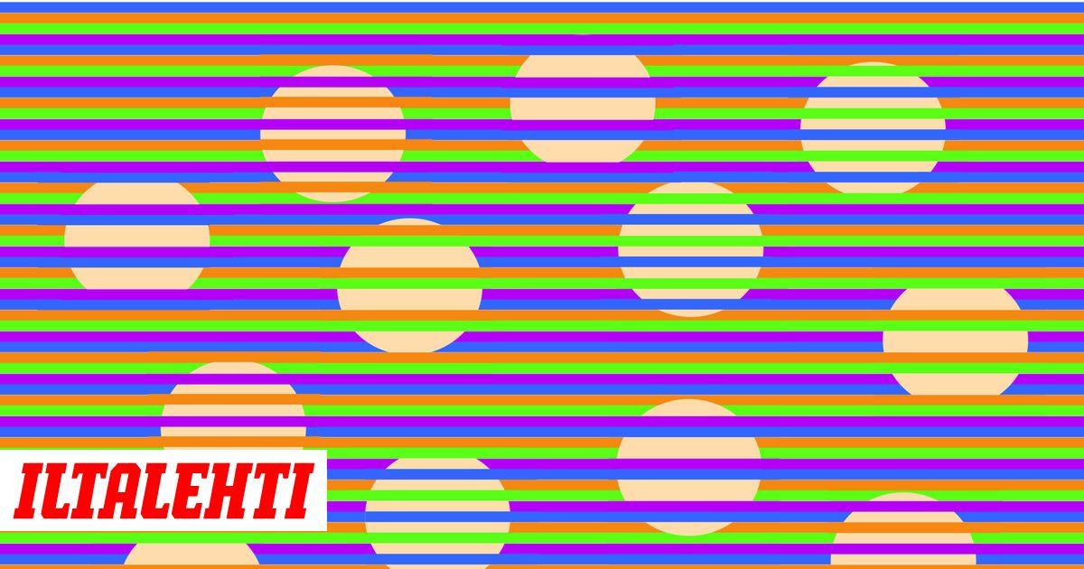 Minkä värisinä näet pallot? Näet joka tapauksessa väärin