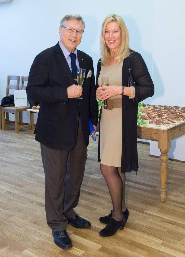 Pertti Salolaisen ja Niina Kosken eroriidat ovat takana, nyt pari on jälleen yhdessä.