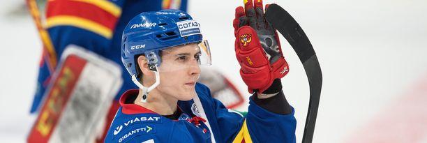 Steve Moses pelasi Jokereissa ilmiömäisen KHL-kauden. Ensi kaudella hän kuuluu Nashville Predatorsiin.