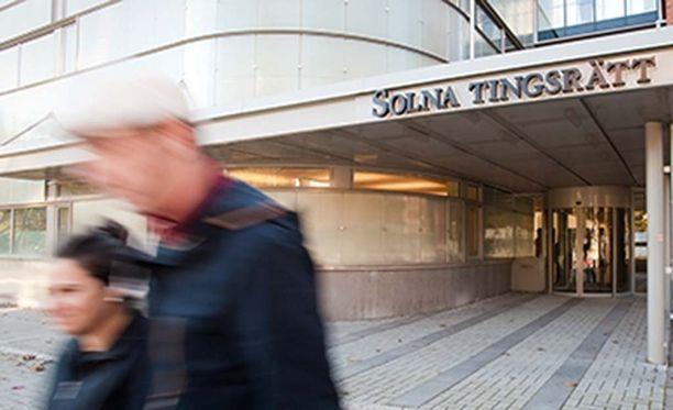 Syyttäjä on ilmoittanut valittavansa Solnan käräjäoikeuden päätöksestä hovioikeuteen.