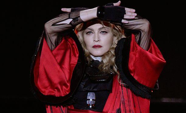 Madonna, 57, keikkailee parasta aikaa Rebel Heart -konserttikiertueellaan.