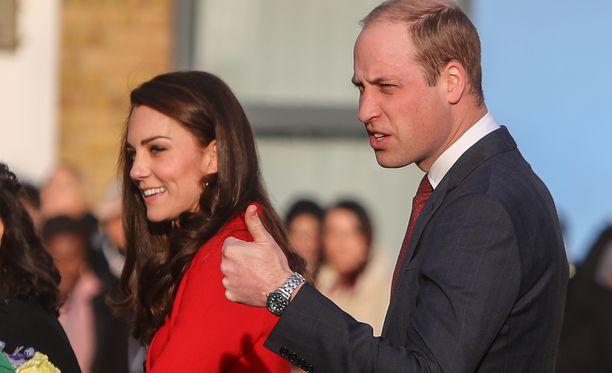 William suosii näyttäviä kelloja.