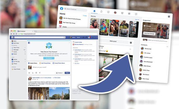 Uusi Facebook.com korvaa perinteisen syyskuussa.