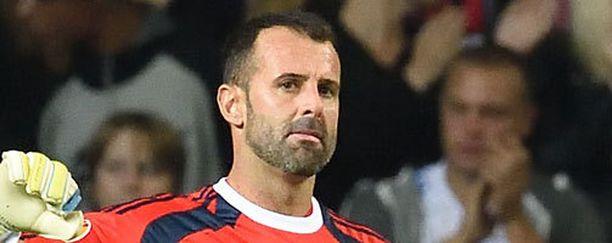 Toni Doblas torjui HJK:lle Suomen mestaruuden.