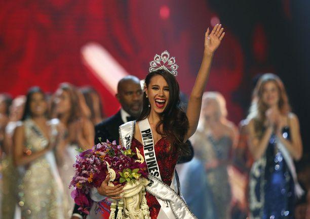 Catriona Gray -voitti Miss Universum -tittelin.