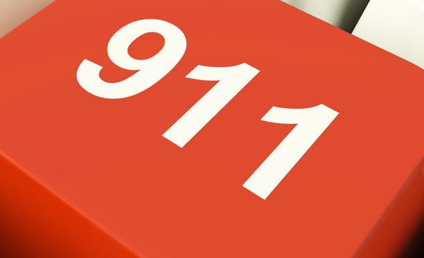 Yhdysvalloissa hätänumero on 911, Suomessa 112.