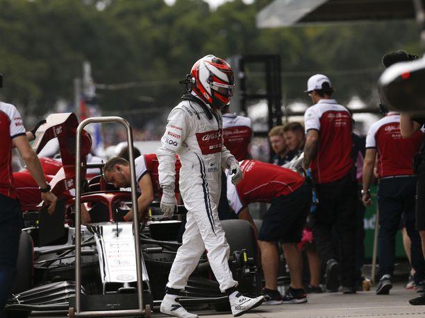 Kimi Räikkönen ei ole saavuttanut kesätauon jälkeen ajettuina seitsemänä GP-viikonloppuna yhtään pistettä.