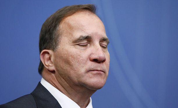 Pääministeri Stefan Löfvenin on määrä pitää lehdistötilaisuus kello 11 Suomen aikaa.