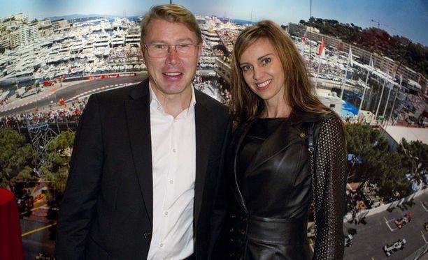 Mika ja Marketa Häkkinen ovat olleet yhdessä vuodesta 2008, mutta menivät naimisiin vasta viime vuonna.