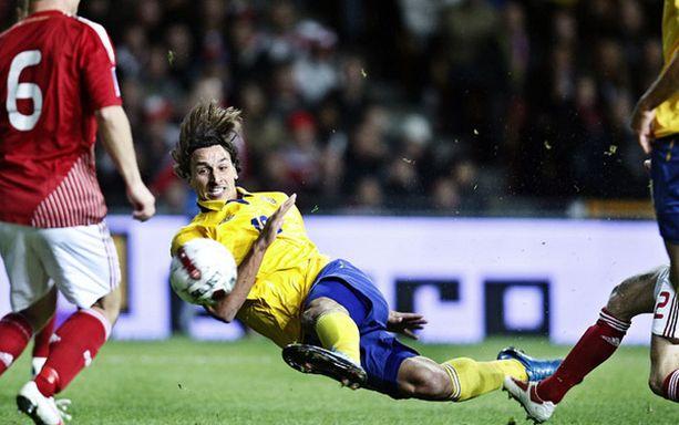 Zlatan Ibrahimovic on tehnyt MM-karsinnoissa vain kaksi maalia.