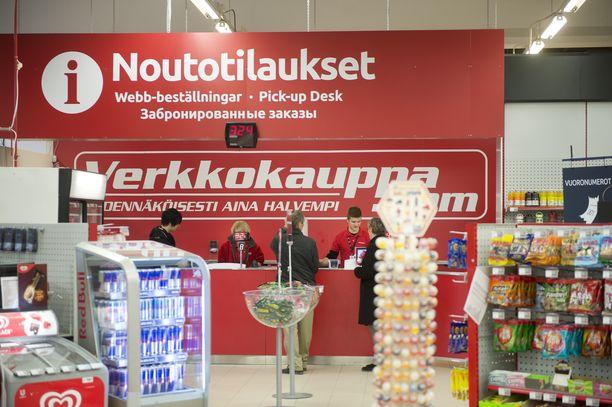 Verkkokauppa.com toimii sekä verkossa että omissa myymälöissään. Kuvassa Pirkkalan toimipiste.