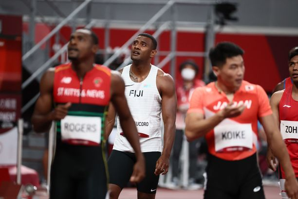 Fidžin Banuve Tabakaucoro harmitteli kilpailukunnon puutetta.