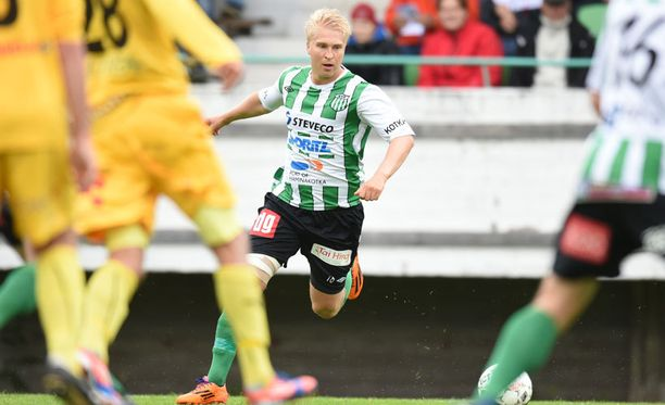 KTP:n hyökkääjä Jussi Aalto on kovassa vireessä.