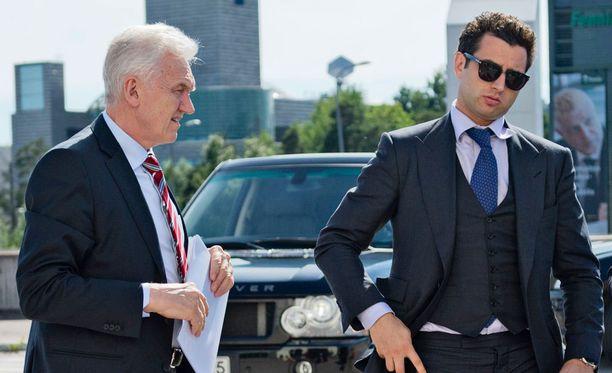Gennadi Timtshenko (vas.) on Pietarin SKA:n puheenjohtaja, Roman Rotenberg varapuheenjohtaja. Miehet ovat myös Jokerien vähemmistöomistajia.