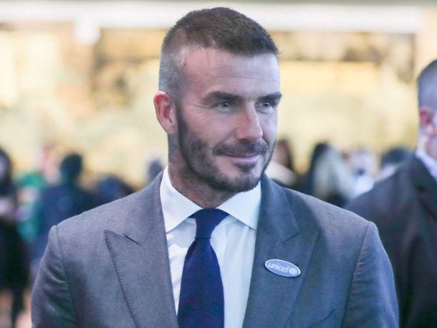 David Beckhamin tyyli on hieman muuttunut vuosien varrella.