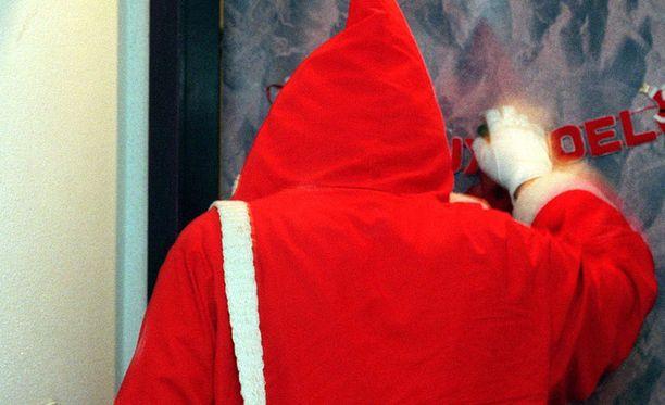 Onko tilattu joulupukki aiheuttanut hämmennystä?