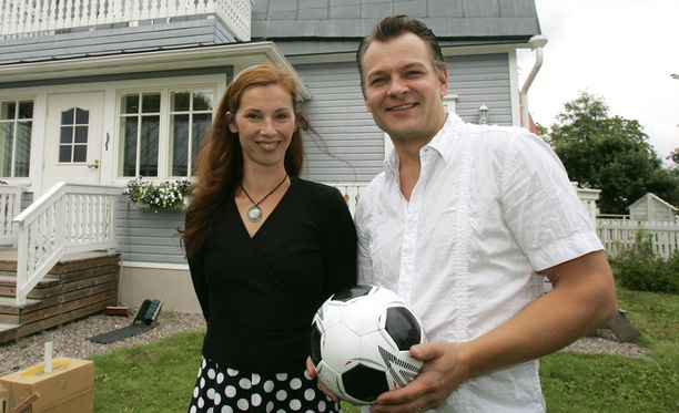 Petri ja Mia Liski olivat naimisissa yli 20 vuoden ajan. Kuva vuodelta 2007.
