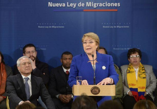 Presidentti Michelle Bachalet on tehnyt liberaaleja lakialoitteita.
