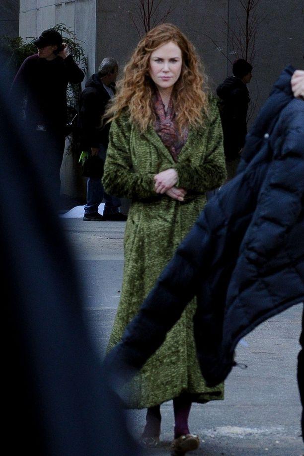 Nicole Kidman näyttelee uutuussarjassa Grace Sachsia.