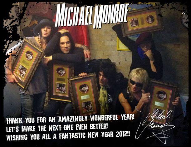 Monroen uuden vuoden toivotus.