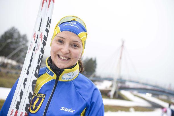 Kauppatieteitä opiskeleva Maaret Pajunoja on ollut parhaimmillaan maailmancupissa sijalla 35 Lahden sprintissä viime kaudella. SM-sprinteissä paras henkilökohtainen saavutus on kuudes tila vuodelta 2017. Hän on Krista Pärmäkosken tapaan syntynyt vuonna 1990.