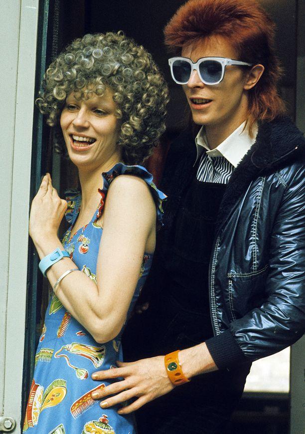 Angela oli naimisissa David Bowien kanssa vuosina 1970-1980.