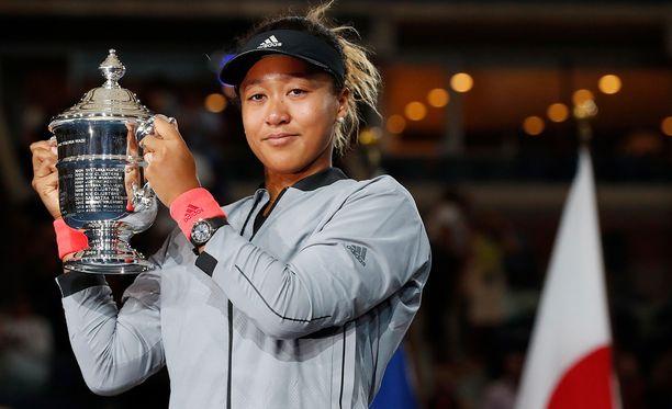 Naomi Osaka voitti Grand Slam -kaksinpeliturnauksen historian ensimmäisenä Japanin edustajana.
