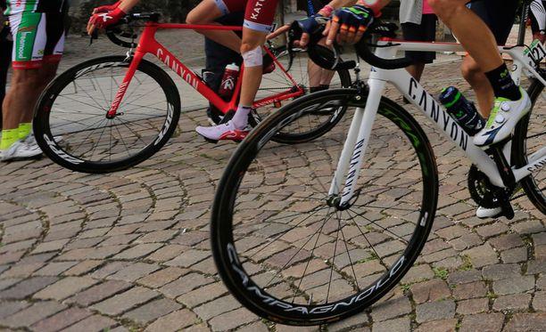 Brasilialainen pyöräilijä on käyttänyt kiellettyjä aineita. Kuvituskuva.