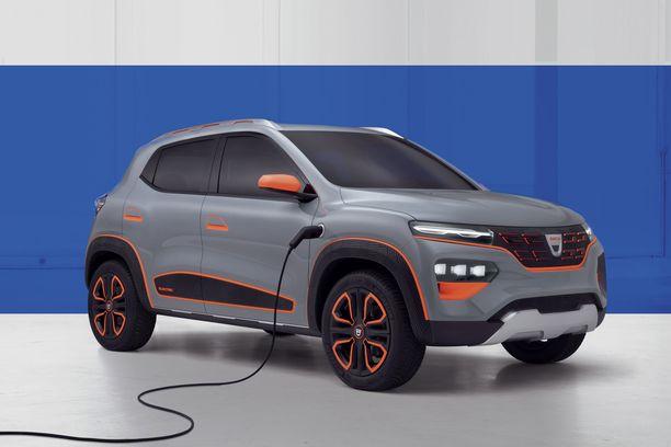 Tältä se sitten näyttää - halpismerkki Dacian sähköauto.