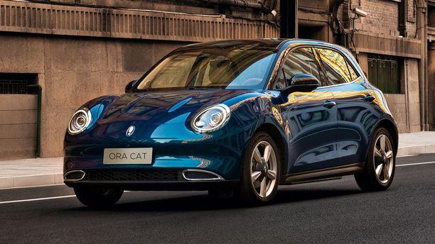 Oca Cat on pieni täyssähköauto, jonka keulan muodoissa on iso ripaus VW Beetleä.
