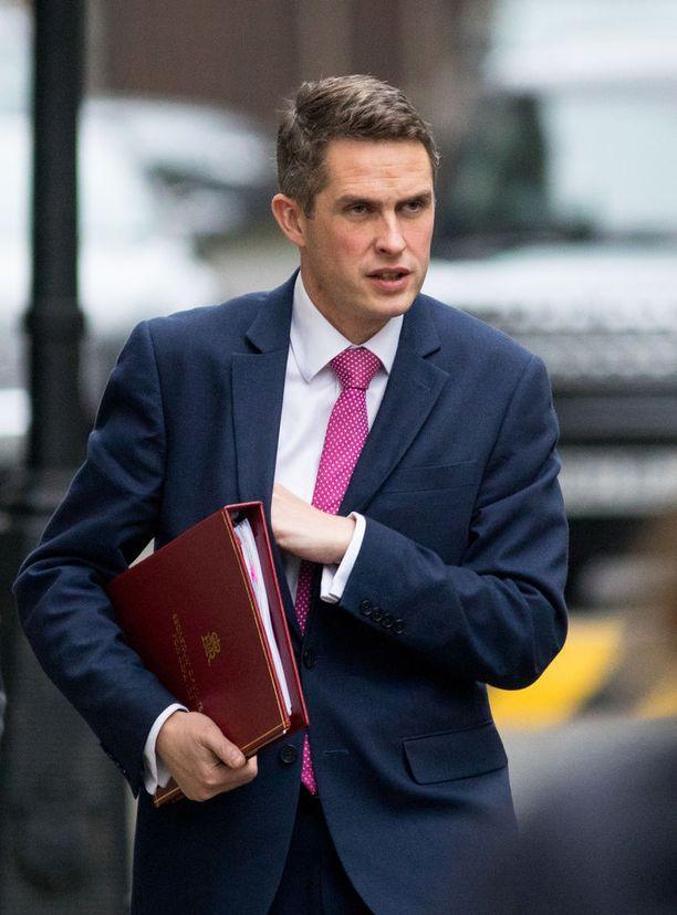 Puolustusministeri Gavin Williamson saattaa nousta konservatiivipuolueen seuraavaksi johtajaksi.