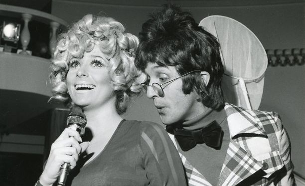 Marion Rungin ja Fred Negendanckin Marionätit-show vuodelta 1971.