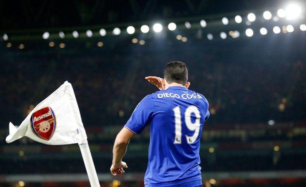 Diego Costa on Arsenalin turma.