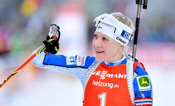 Kaisa Mäkäräinen on Suomen tämän vuosikymmenen menestynein urheilija talviolympialajissa.