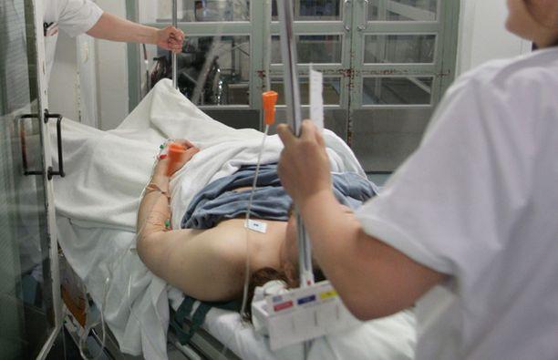 Sairaalahuoneissa lämpötila voi nousta yli 30 asteeseen.