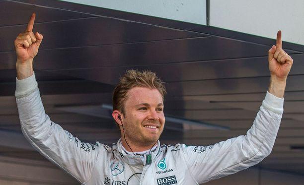 Minkä ikäinen F1-kuski Nico Rosberg on?