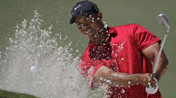 Tiger Woods ei ollut tyytyväinen, vaikka oli paikoitellen uskomaton.