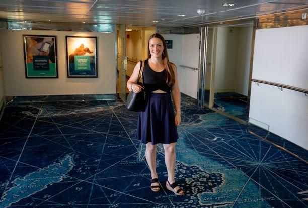 Martina Häkkinen reissaa mielellään niin maailmalla kuin kotimaassakin.